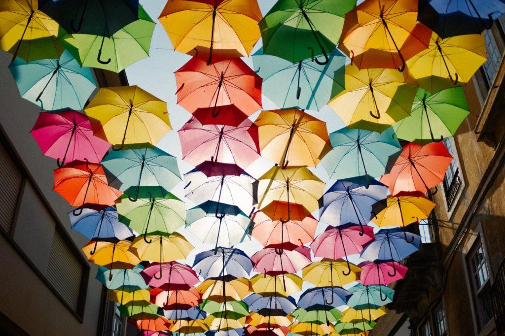 art umbrella