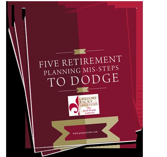 5 retirement misteps