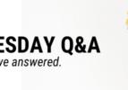 Wednesday Q&A Header